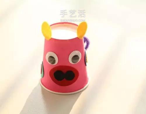 创意纸杯手工制作图片 用纸杯做可爱小动物 -  www.shouyihuo.com
