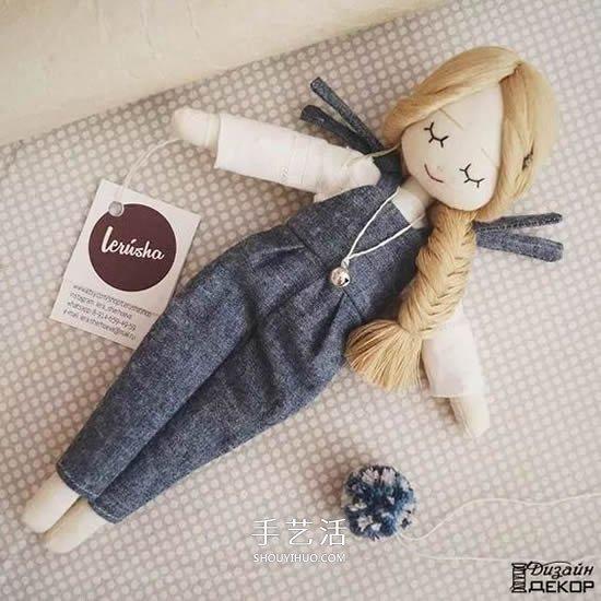 自製換裝娃娃的方法 幾塊布片就讓孩子玩不停
