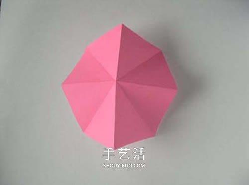 新手入門教程:最常用方形摺紙的折法圖解