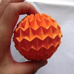 怎麽折�人她都能看到形球的方法 ��力�形球两个人连大气都不敢出的折法�D解