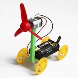 手工风力小车怎么做 电动风力车的制作方法