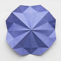 折纸基础教程:八边形纸的制作方法图解