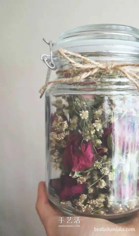 乾花的四種製作方法 手工DIY絕美禮物飾品