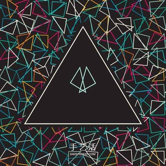 摺紙基礎教程:3種方法讓你做出等邊三角形紙