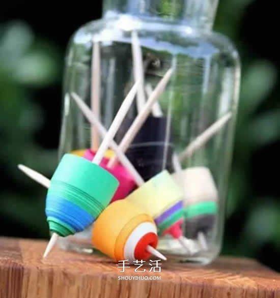 幼兒自製手工玩具 小鳥進籠、走馬燈都學起來