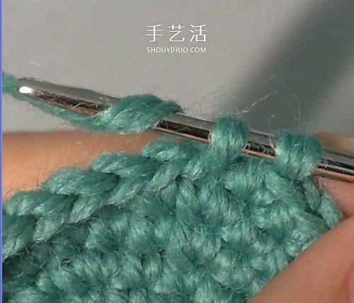 帶提手收納籃的編織方法 鉤針編織毛線小籃子