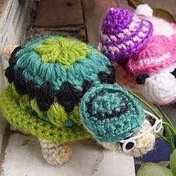 钩针编织小乌龟的方法 手工乌龟玩偶的编法