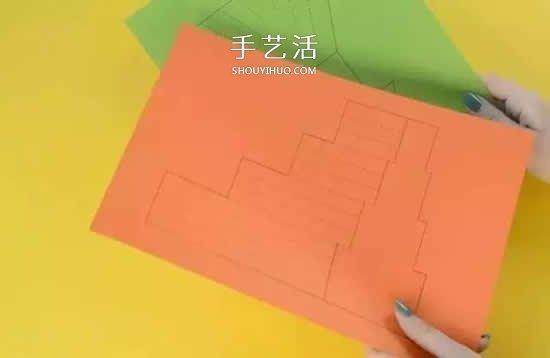 幼兒園彩色卡紙手工製作 簡單DIY可愛小動物