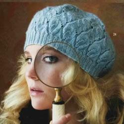 两款螺旋帽子的编织方法 钩针编织螺旋帽图解