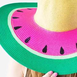 去年的遮阳帽戴腻了 简单改造一下美腻朋友圈