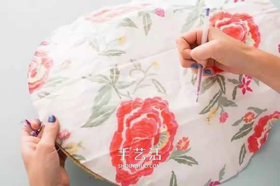 去年的遮阳帽戴腻了 简单改造一下美腻朋友圈 -  www.shouyihuo.com
