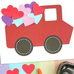 满载我们的爱!送给妈妈的母亲节小汽车卡片