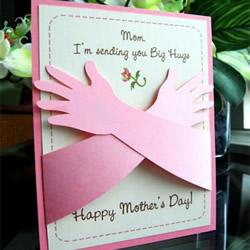 给妈妈一个大大的拥抱!超暖心母亲节贺卡DIY