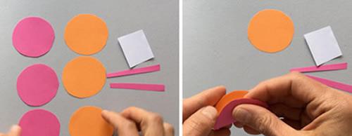 简单的幼儿卡纸手工制作 可爱纸毛毛虫的做法 -  www.shouyihuo.com