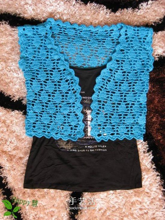 毛線編織開衫毛衣圖解 女開衫針織衫外套織法