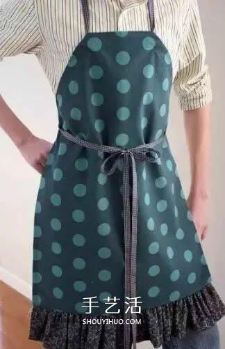 舊衣服改造圍裙步驟圖解 這樣的小妙招別錯過!