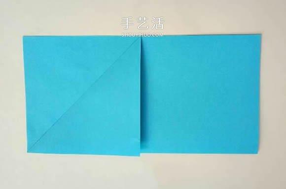 五個角的星星摺紙圖解 內外雙五角星星的折法
