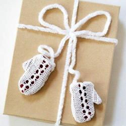 自制可爱礼品包装带 漂亮手套包装带的做法