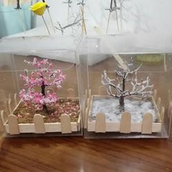 瞅瞅教你做:用细铁丝制作漂亮的大树装饰品
