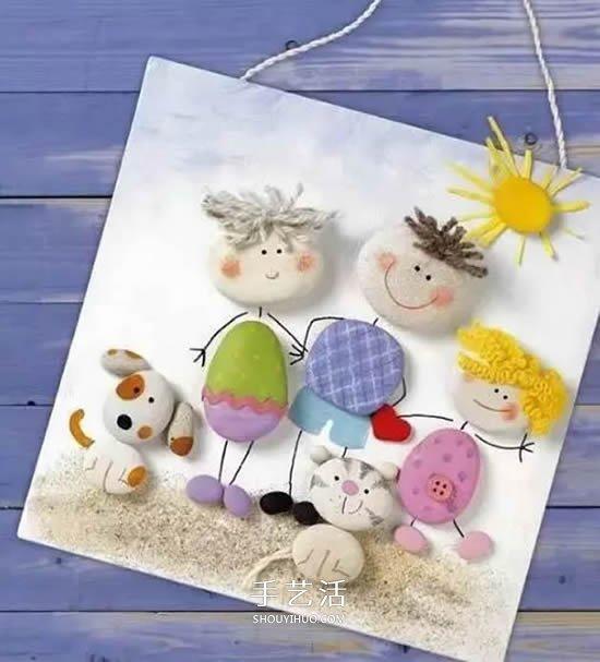 创意超棒的儿童石头画作品 每一个都好想学! -  www.shouyihuo.com
