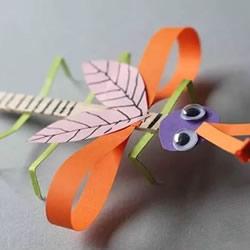 简单幼儿园手工大全 只要用纸就玩得很开心!