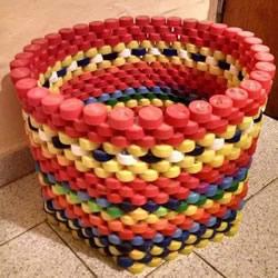 用塑料瓶做的小制作 凳子沙发垃圾桶随便选