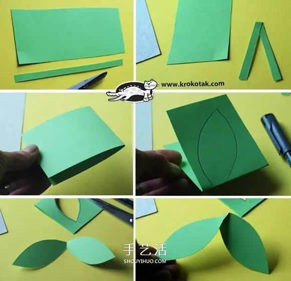 簡單幼兒園手工大全 只要用紙就玩得很開心!