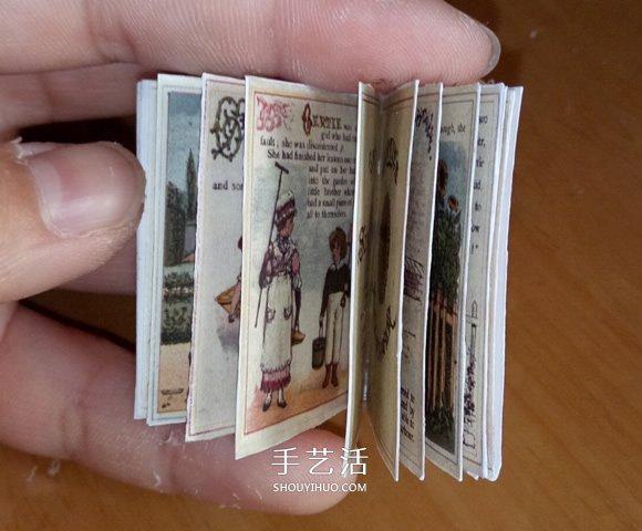 瞅瞅教你做:如何制作迷你小书书的方法 -  www.shouyihuo.com