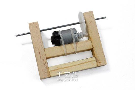 自制电动平衡车玩具 用光盘制作电动平衡玩具 -  www.shouyihuo.com