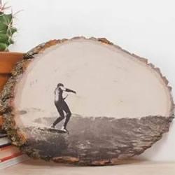 自制创意相框!教你如何把照片印到木板上