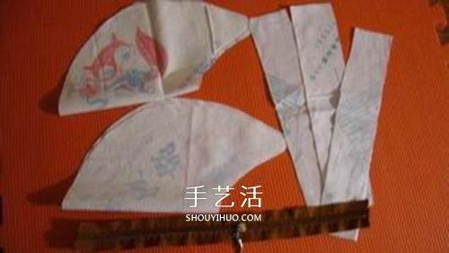 手工毛線編織單肩挎包的方法圖解教程