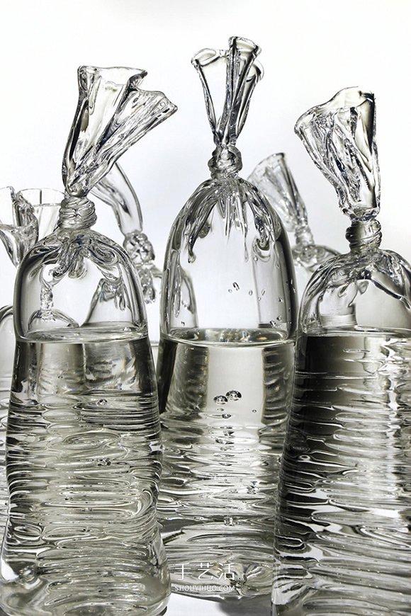 这不是一袋水!手工打造超逼真的玻璃雕塑 -  www.shouyihuo.com