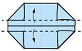 最简单纸盒的折法图解 收纳、装垃圾都用它! -  www.shouyihuo.com