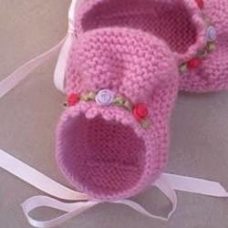 怎么用棒针编织婴儿鞋 手工可爱宝宝鞋的织法