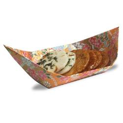 日式茶盘的简单折纸 幼儿手工小船的折法图解