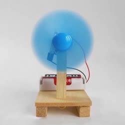 DIY电动风扇制作方法 力量虽小也能带来凉风