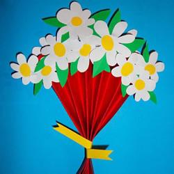 可爱又美丽的花束!简单手工做母亲节礼物教程