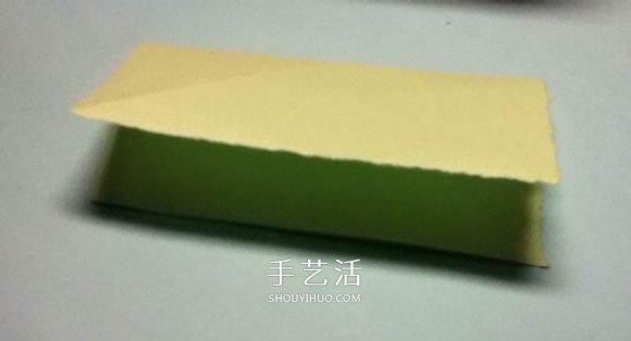 折叠四个爱心 组合成代表幸运的四叶草图解 -  www.shouyihuo.com