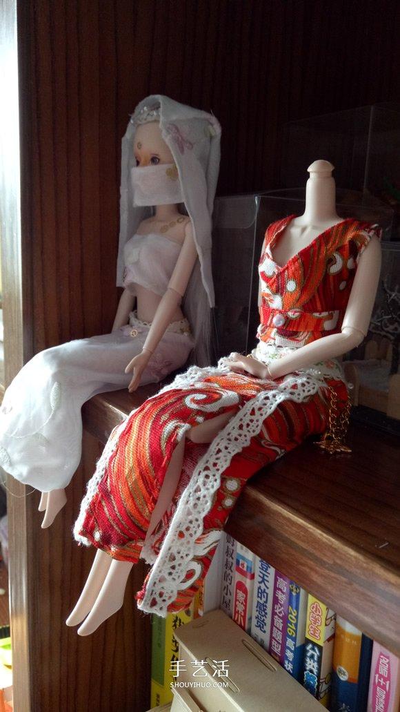 瞅瞅帶你做:漂亮娃娃衣服的手工製作教程