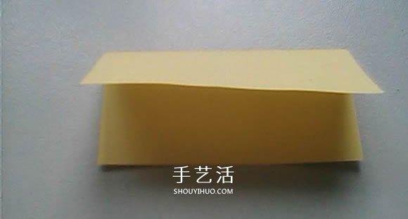 婚礼上的用花 立体百合的折纸方法图解过程 -  www.shouyihuo.com