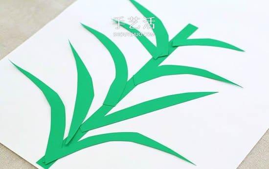 美丽的蓝色花朵 用鸡蛋托手工制作立体风信子 -  www.shouyihuo.com