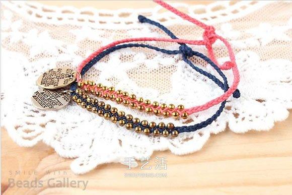 带挂件串珠编织手链DIY 洋溢着活泼可爱的气息 -  www.shouyihuo.com
