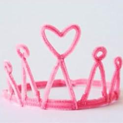 分分钟让你变身公主王子!扭扭棒做皇冠的方法