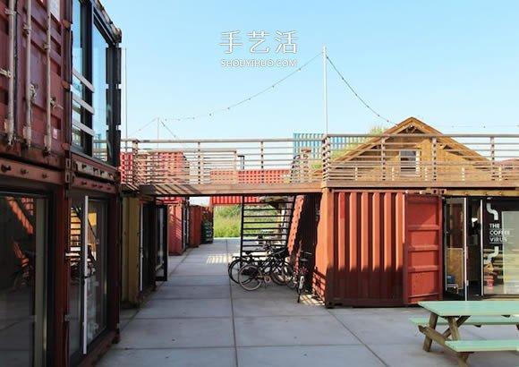 快速又低成本!用集装箱打造的临时创业空间 -  www.shouyihuo.com
