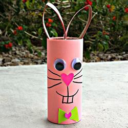 最简单的幼儿园手工小兔子制作方法