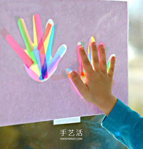 送上我们的小掌印!简单有创意父亲节卡片DIY