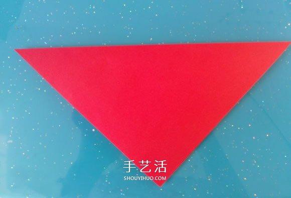 自带翅膀会飞的心 手工折爱心翅膀的折法图解 -  www.shouyihuo.com