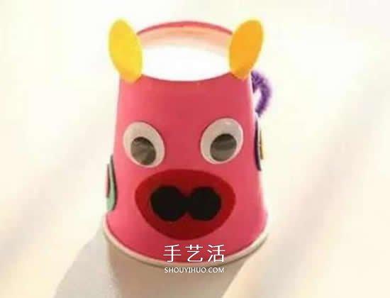 可爱的幼儿园手工作品 送爸爸作为父亲节礼物 -  www.shouyihuo.com