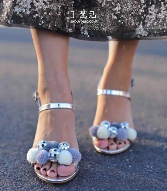 涼鞋舊了不要扔!創意DIY舊涼鞋改造方法大全