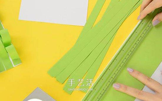 简单卡纸手工制作教程 超有趣的草丛中的小鸡 -  www.shouyihuo.com